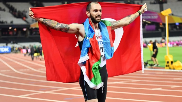 Ramil Guliyev'e büyük onur!