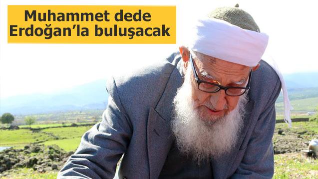 Muhammet dede Erdoğan ile buluşacak
