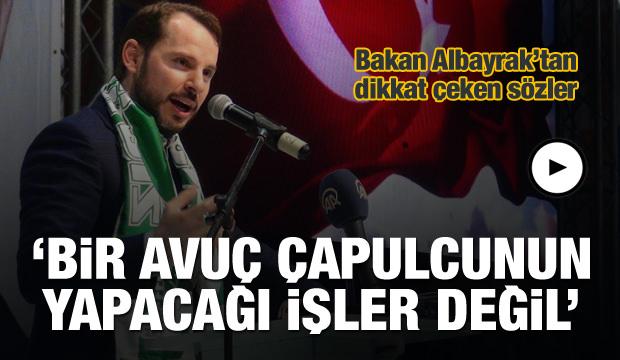 Albayrak: Türkiye beka mücadelesi veriyor