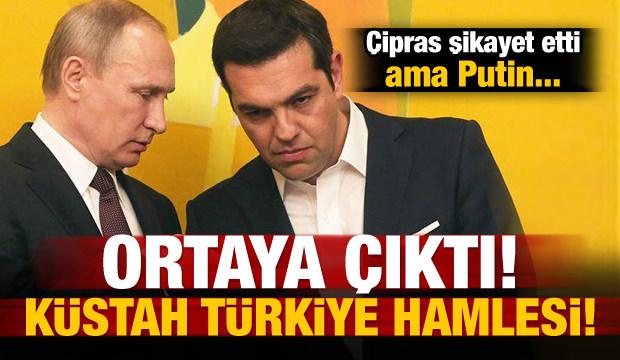 Çipras, Türkiye'yi Putin'e şikâyet etti