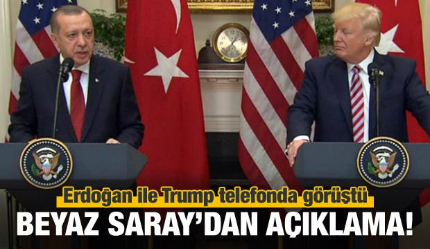 Cumhurbaşkanı Erdoğan ile Trump görüştü