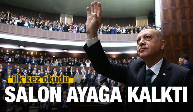 Cumhurbaşkanı Erdoğan'dan Afrin şiiri