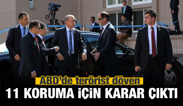 Erdoğan'ın 11 koruması için sıcak karar!