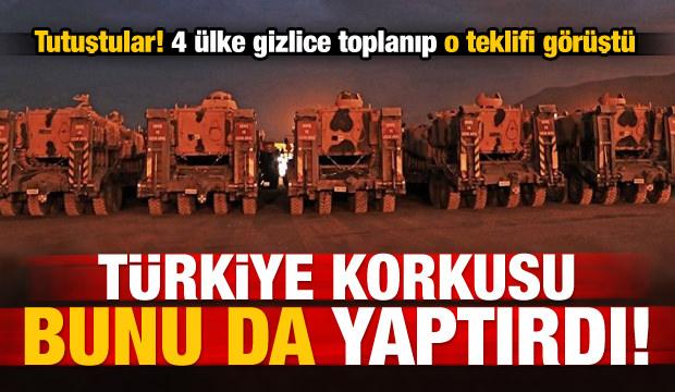 Türkiye'ye karşı gizlice toplandılar!