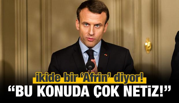 Fransa'dan Afrin açıklaması: Bu konuda çok netiz!