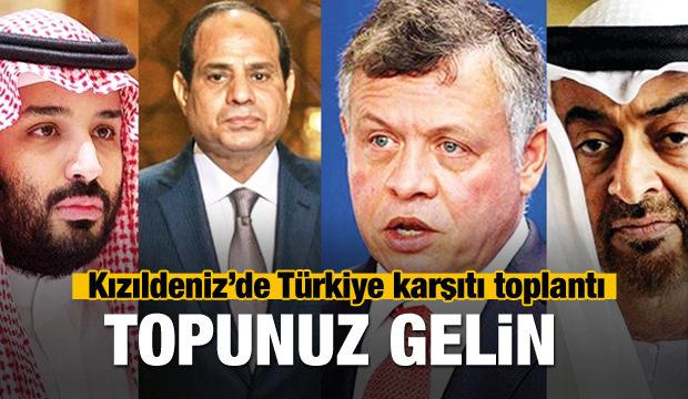 Kızıldeniz'de Türkiye karşıtı gizli toplantı