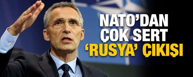 NATO'dan çok sert Rusya açıklaması