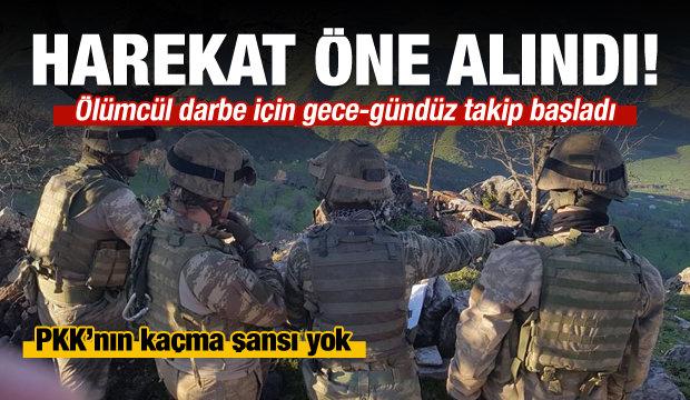 PKK'nın kaçışı yok: Kandil'e harekat...