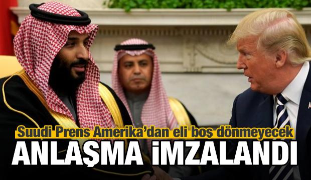 Suudi Prens ABD'den eli boş dönmeyecek