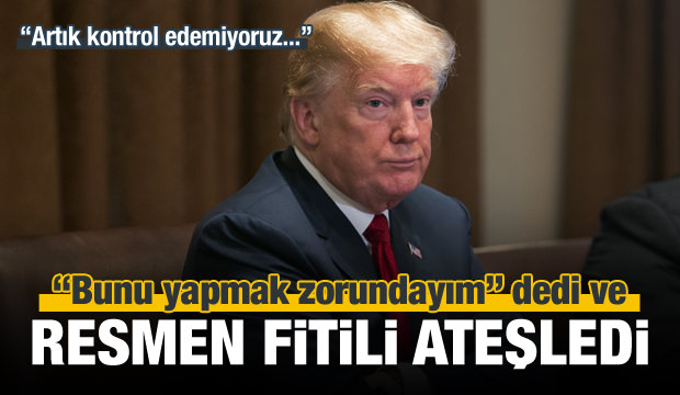 Trump'tan çok sert Çin hamlesi!