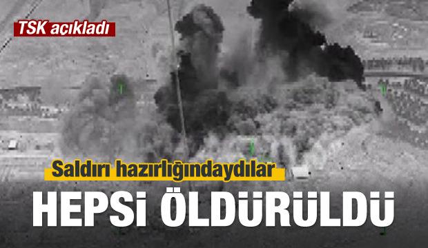 TSK duyurdu! 8 terörist daha öldürüldü…