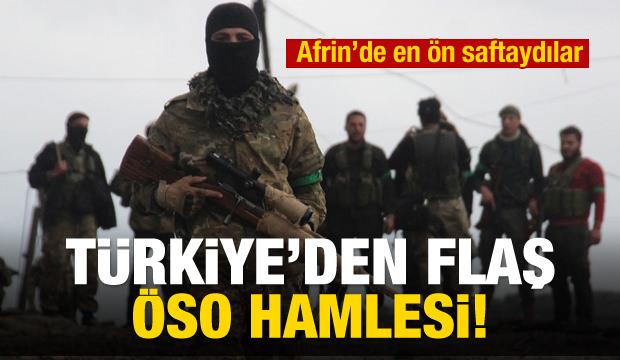 Türkiye'den flaş ÖSO hamlesi