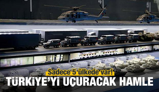Türkiye'yi uçuracak hamle! Sadece 5 ülke üretiyor