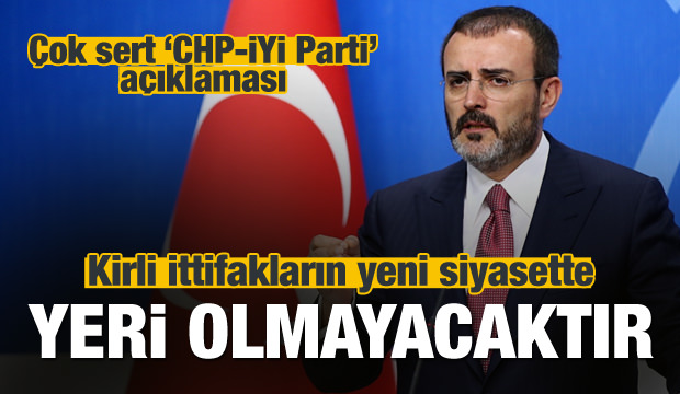 AK Parti'den kirli ittifaka çok sert tepki!