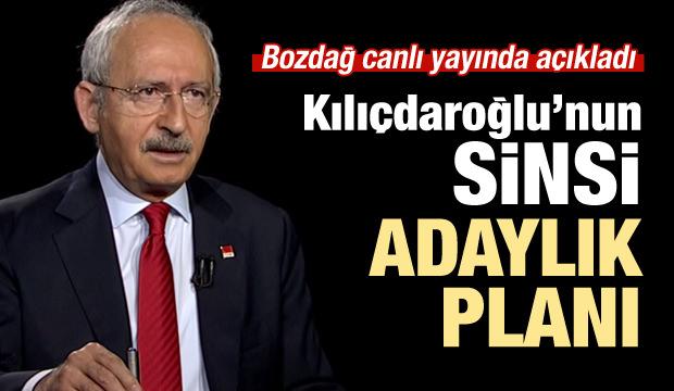 Bozdağ, Kılıçdaroğlu'nun adaylık planını açıkladı!