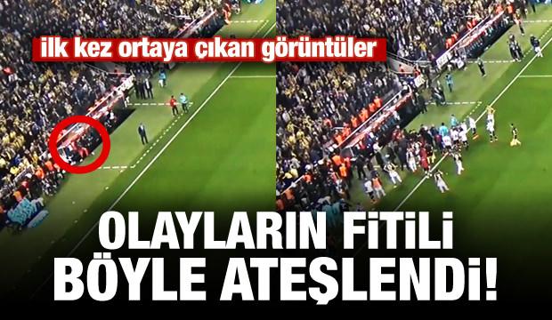 Kadıköy'de olayların fitili böyle ateşlendi!