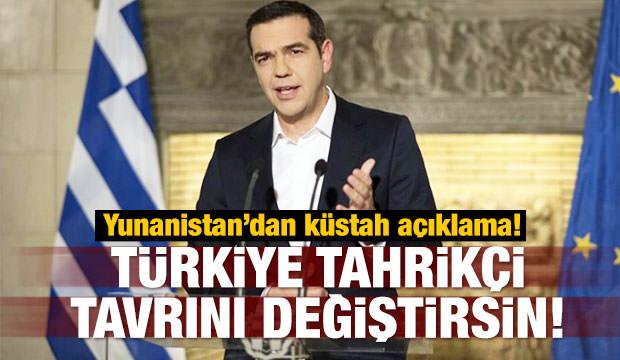Yunanistan'dan küstah 'Türkiye' çıkışı