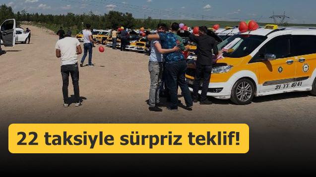 22 taksiyle sürpriz teklif!