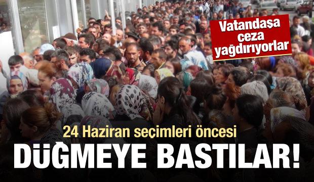 """24 Haziran öncesi vatandaşa """"seçim tuzağı"""""""