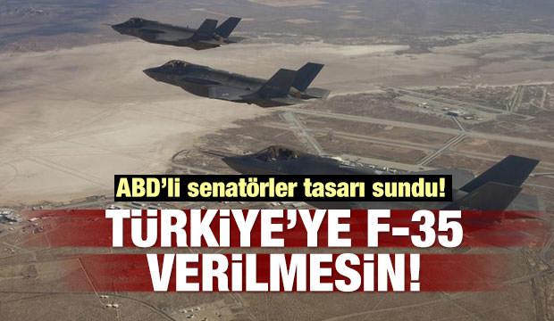 ABD'li senatörler: Türkiye'ye F-35 verilmesin