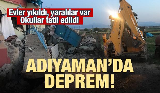 Adıyaman'da deprem: 39 yaralı