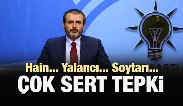 AK Parti'den CHP'ye: Soytarılar, terbiyesizler...
