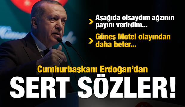 Cumhurbaşkanı Erdoğan'dan CHP-İyi Parti yorumu