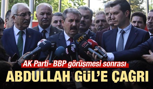 Destici'den Abdullah Gül' açıklaması