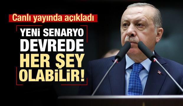 Erdoğan'dan İYİ Parti yorumu: Her şey olabilir!