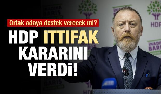 HDP adaylık kararını açıkladı!