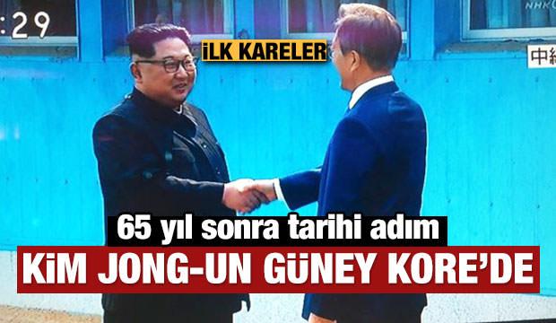 Kim Jong-un ve Moon Jae-in bir araya geldi