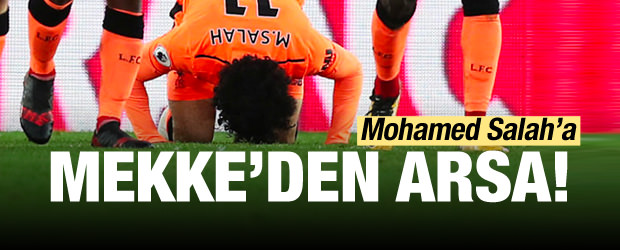 Mohamed Salah'a Mekke'den arsa!