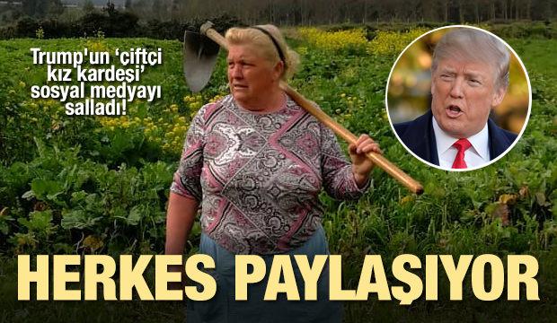 Trump'un çiftçi kız kardeşi sosyal medyayı salladı