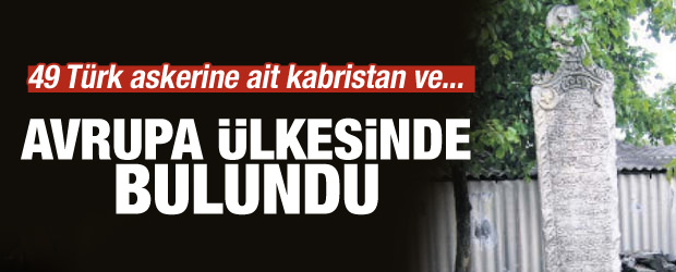 Ukrayna'da kayıp Türk şehitliği gün yüzüne çıktı