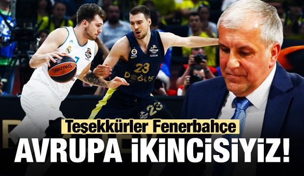 Fenerbahçe Doğuş Avrupa ikincisi!