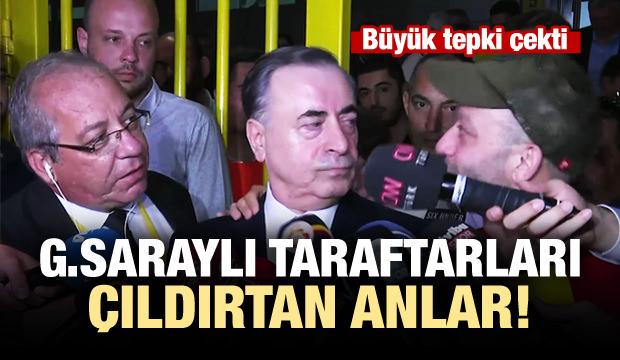 Galatasaraylı taraftarları çıldırtan anlar!