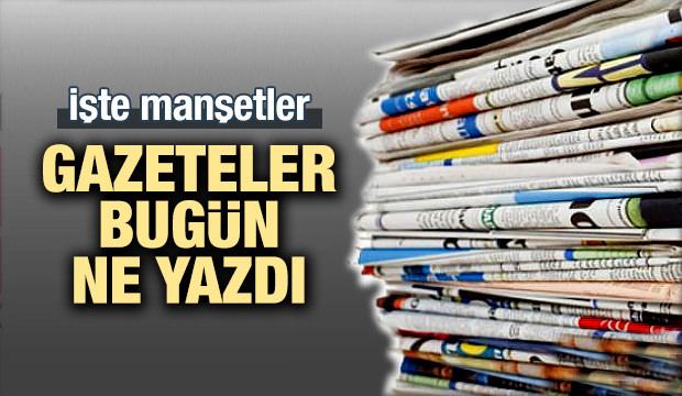 27 Mayıs 2018 Gazete Manşetleri