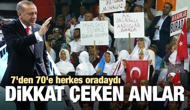 AK Parti toplantısından dikkat çeken fotoğraflar