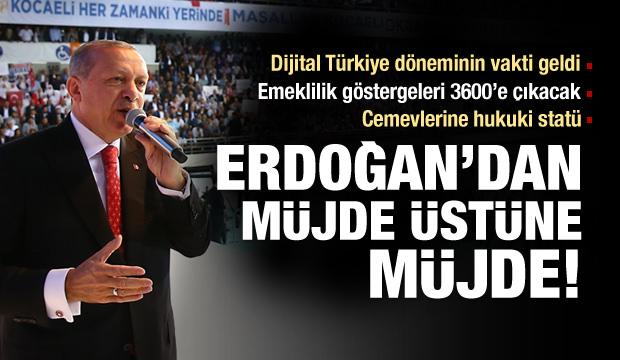AK Parti'nin seçim beyannamesindeki en büyük müjde