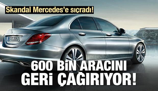 Alman otomotiv devi 600 bin aracını geri çağırıyor