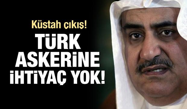 Bahreyn'den küstah Türkiye çıkışı!