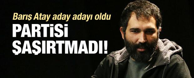 Barış Atay hdp'den vekil adayı oldu!