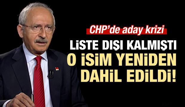 CHP  listesini YSK'ya sundu! Ali Şeker listede