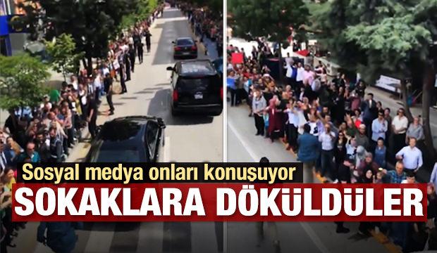 Cumhurbaşkanı Erdoğan, Isparta'da böyle karşılandı
