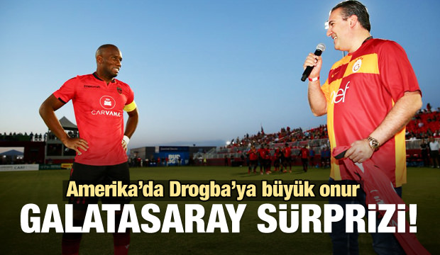 Drogba'ya büyük onur! G.Saray sürprizi...