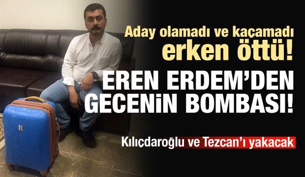 Eren Erdem'den bomba Kılıçdaroğlu itirafı!