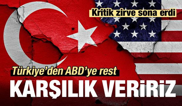 Gözler Ankara'da... Kritik zirve sona erdi!