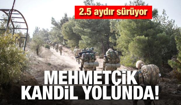 Mehmetçik Kandil yolunda
