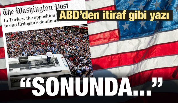 ABD'li Washington Post'un Millet İttifakı mutluluğu