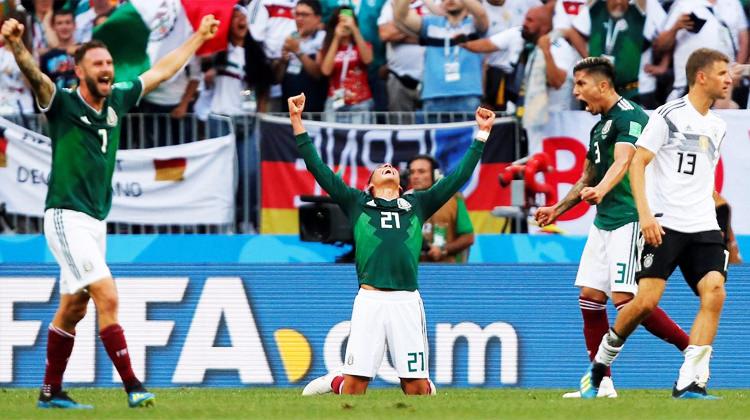 Almanlar şokta! Meksika'dan flaş galibiyet